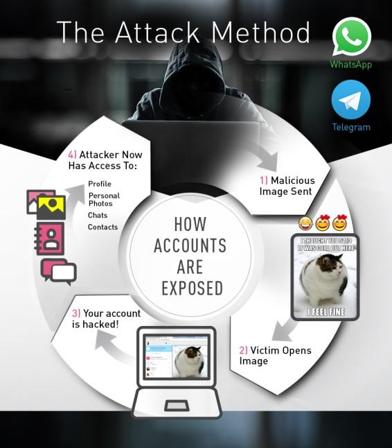 WhatsApp иTelegram оказались самыми небезопасными мессенджерами