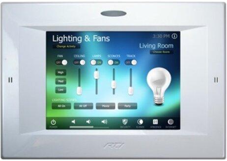 Управление микроклиматом (HVAC — Heating, Ventilation & Air Conditioning), контроль доступа по отпечатку пальца и управление освещением