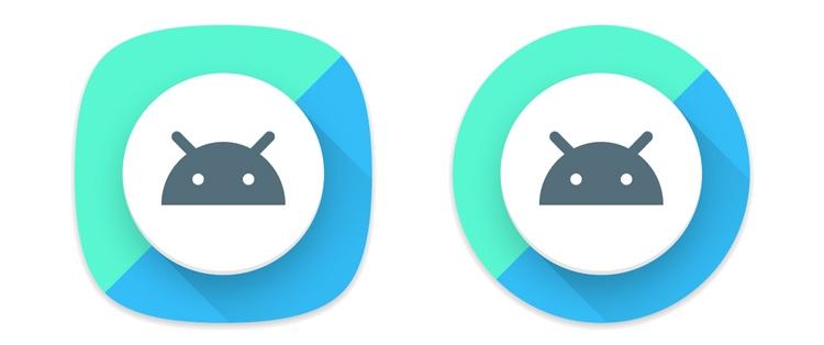 Как может выглядеть иконка в разных вариантах интерфейса