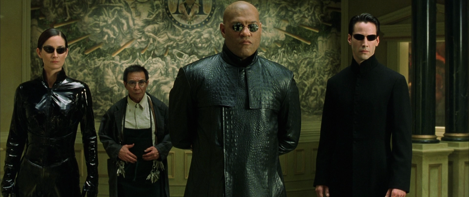 Solution 4 images 1 mot - POUTRE The matrix movie photos