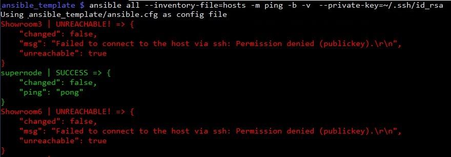 Проверяем доступность узлов