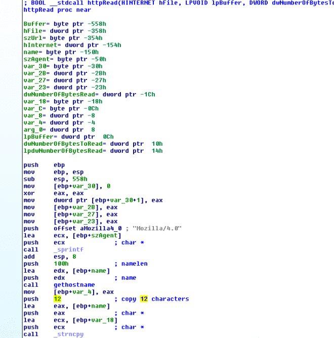 Просмотр кода в IDA Pro