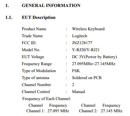 Рис. 4. Информация о частоте и виде модуляции