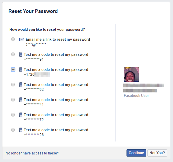 Where do i find my password on facebook