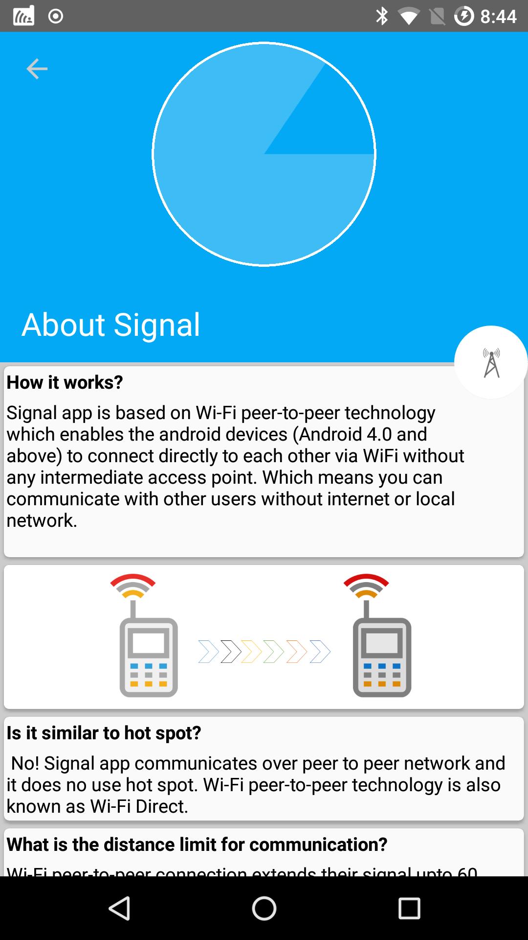 Wi-Fi Talkie и Signal Offline Messenger
