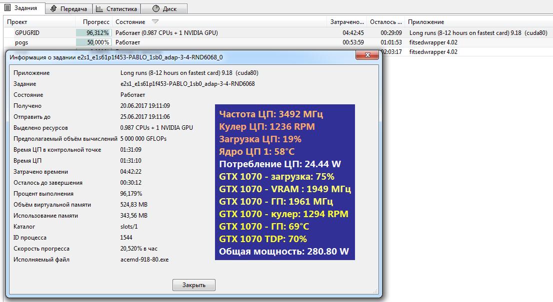 GTX 1070 тратит меньше шести часов на задания, с которыми GTX 680 не справлялась и за сутки