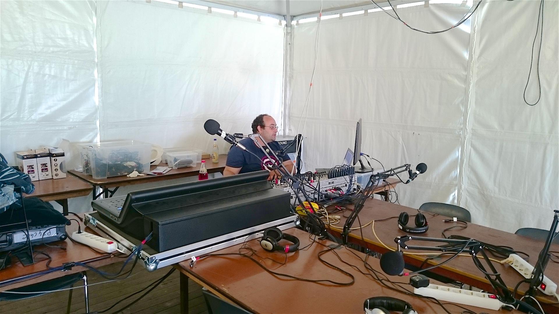 Настоящая пиратская радиостанция