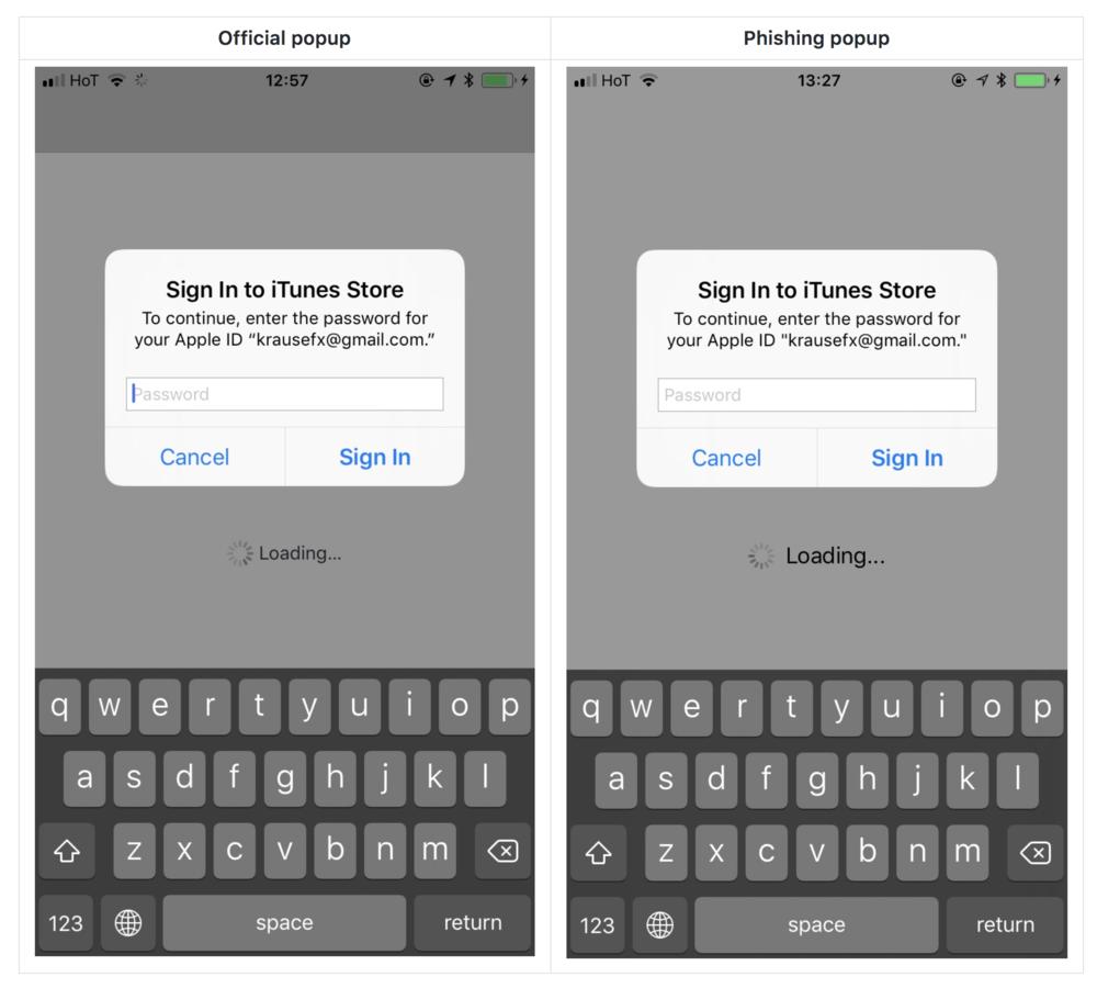 Осторожно! Приложения для iPhone могут украсть ваш AppleID