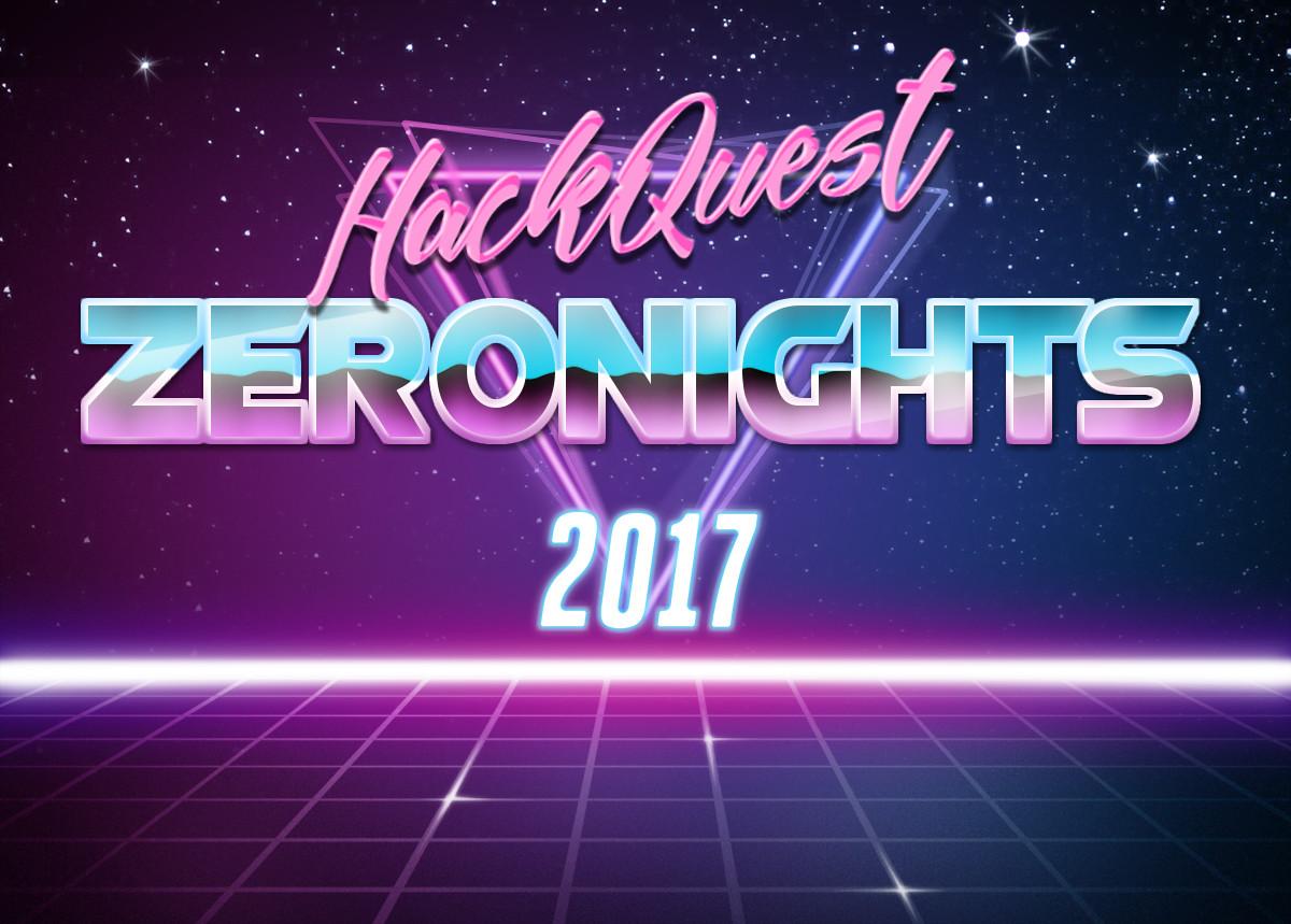 23 октября стартует традиционный HackQuest ZeroNights