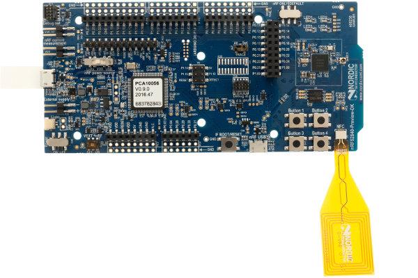 Плата nrf52840 Preview DK