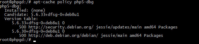 Различные версии PHP в дистрибутиве Debian