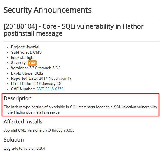 Анонс уязвимости в Developer Network