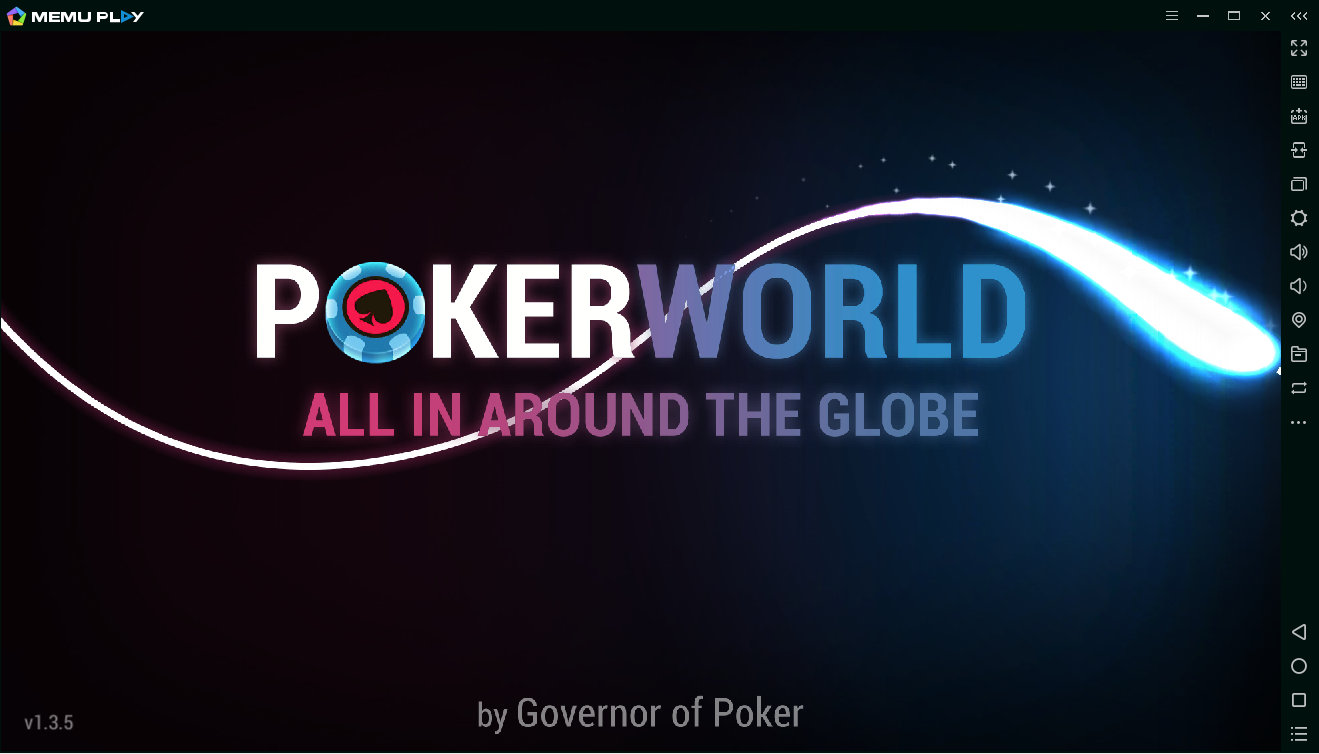 Загрузка игры Poker World 1.3.5 в эмуляторе