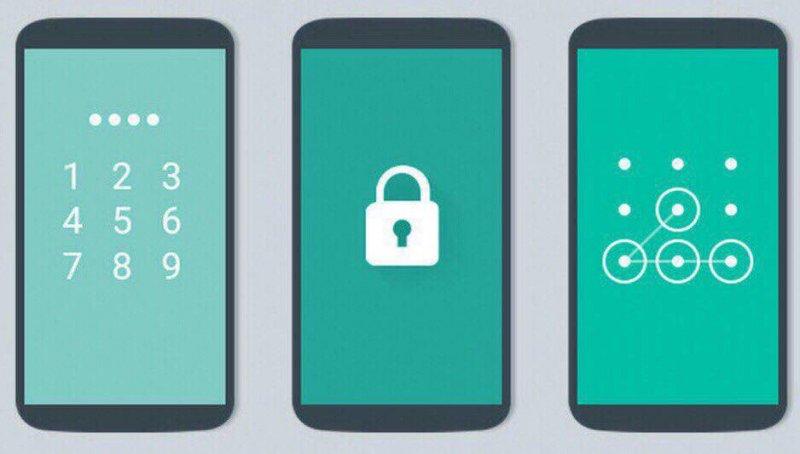 Графический ключ и пароль как первичная защита смартфона от постороннего доступа