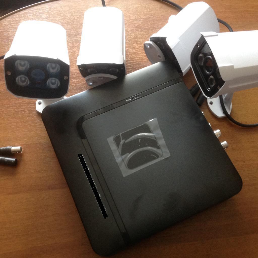 Пример уязвимого DVR-устройства
