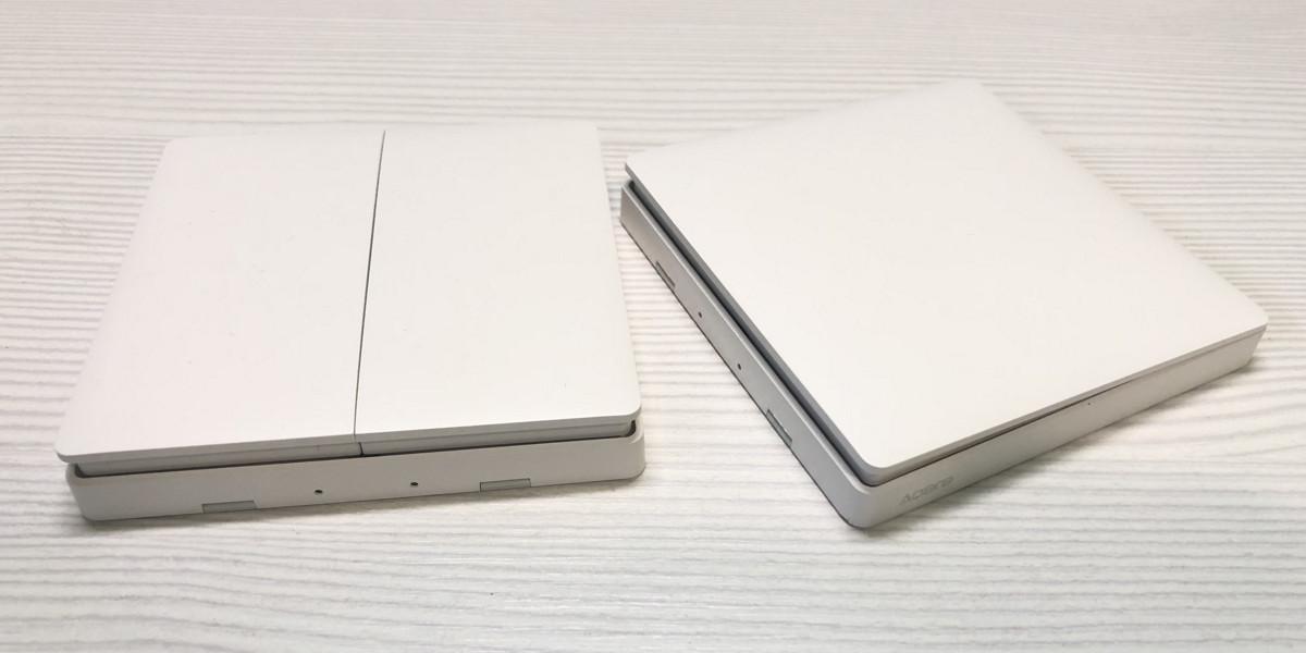 Выключатели Xiaomi Aqara на батарейках, работающие по протоколу ZigBee