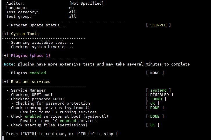 Результаты тестов из группы System Tool and Boot & Services