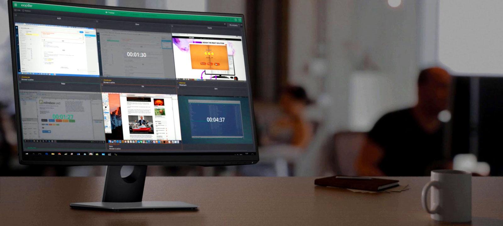 Мониторинг рабочего времени и активности пользователей