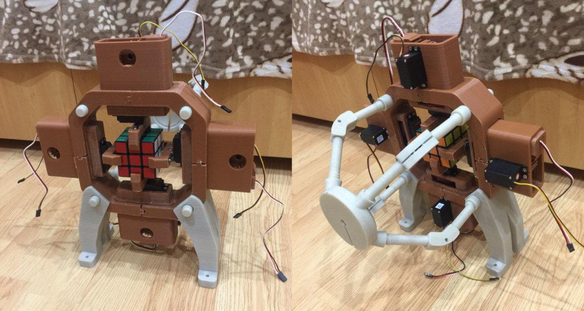 Механическая часть робота