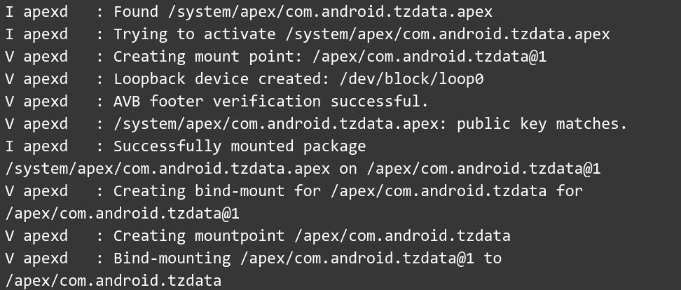 Процесс «установки» пакета APEX