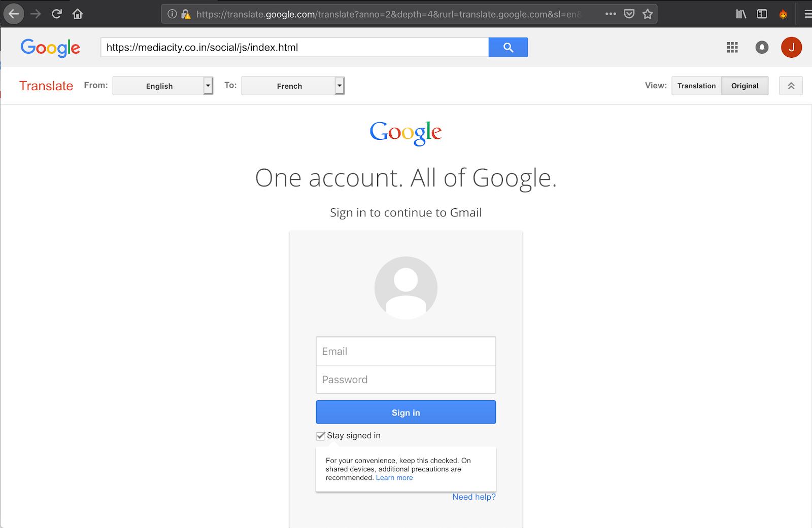 Пользователей Google обокрали с помощью подставного «Переводчика»