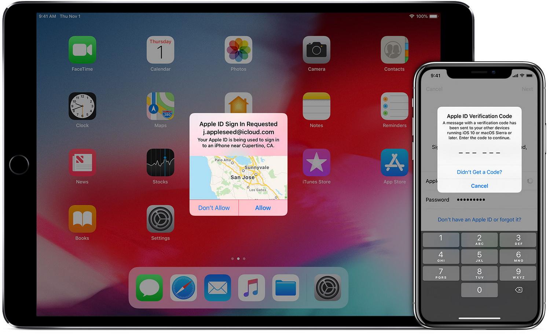 Apple побуждает разработчиков использовать двухфакторную аутентификацию