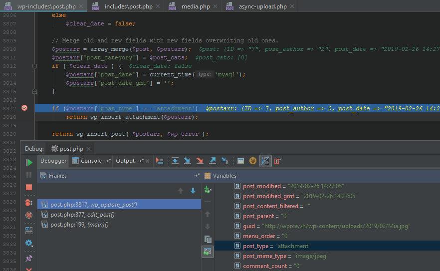 Отладка функции редактирования данных загруженного файла