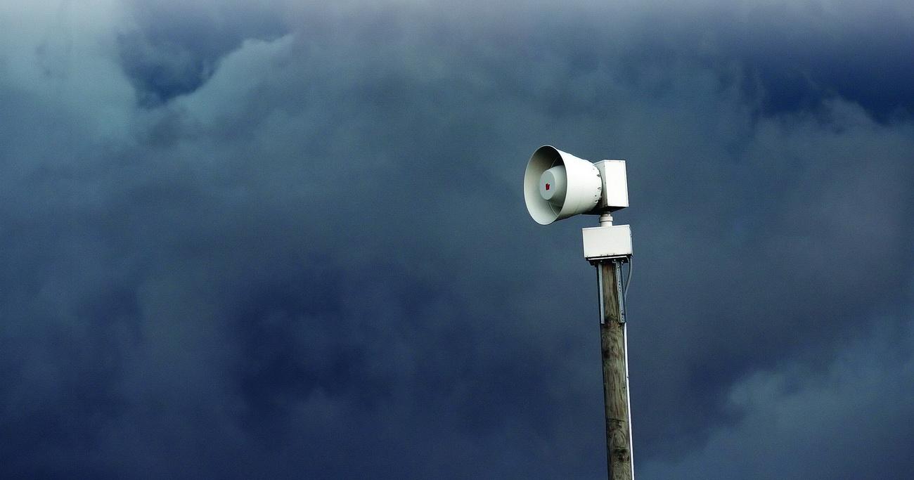 В Техасе неизвестные взломали сирены тревоги, оповещающие о приближении торнадо