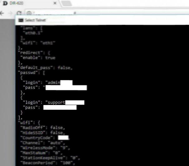Странная учетная запись в конфигурационном файле