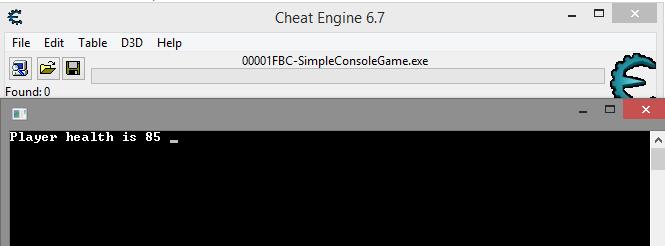 Подключение CE к игре