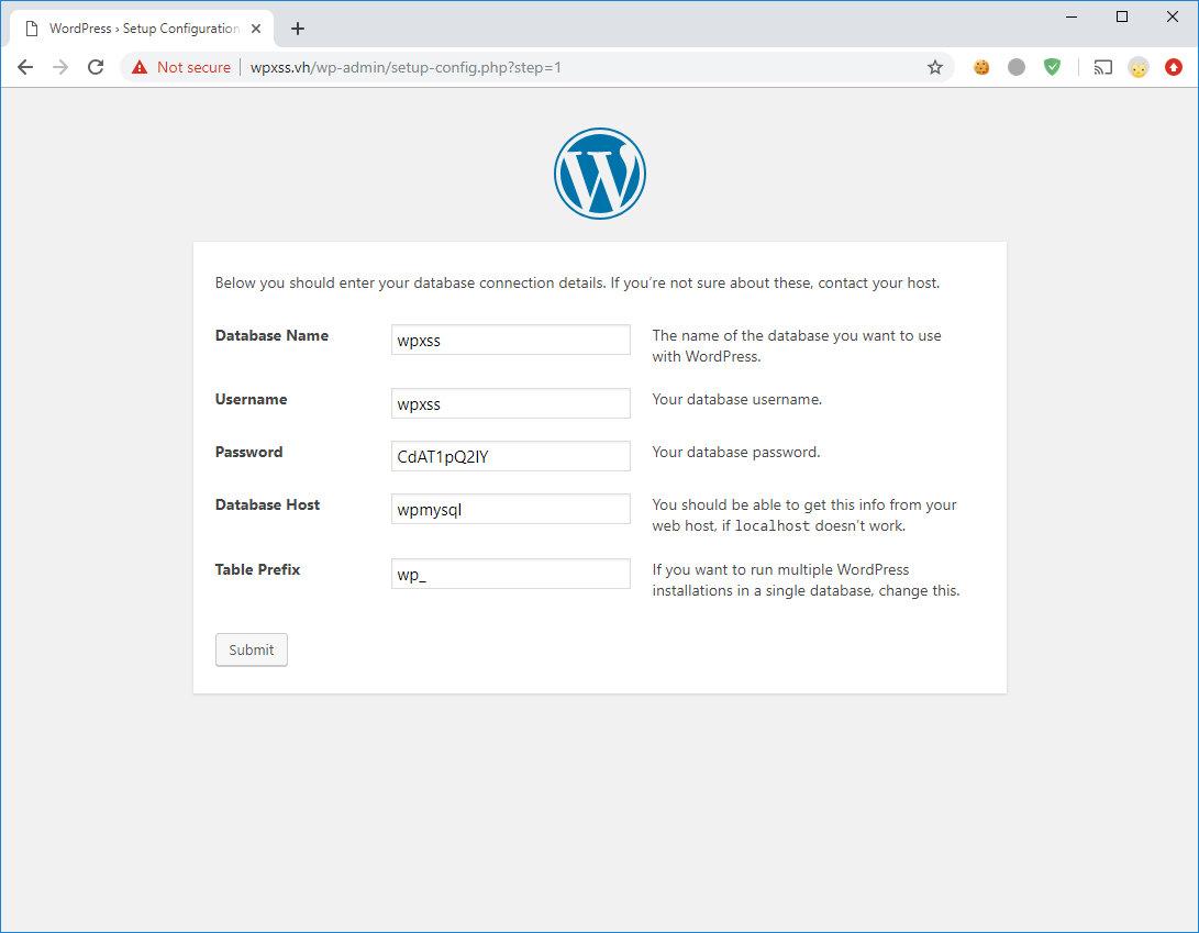 Инсталляция WordPress