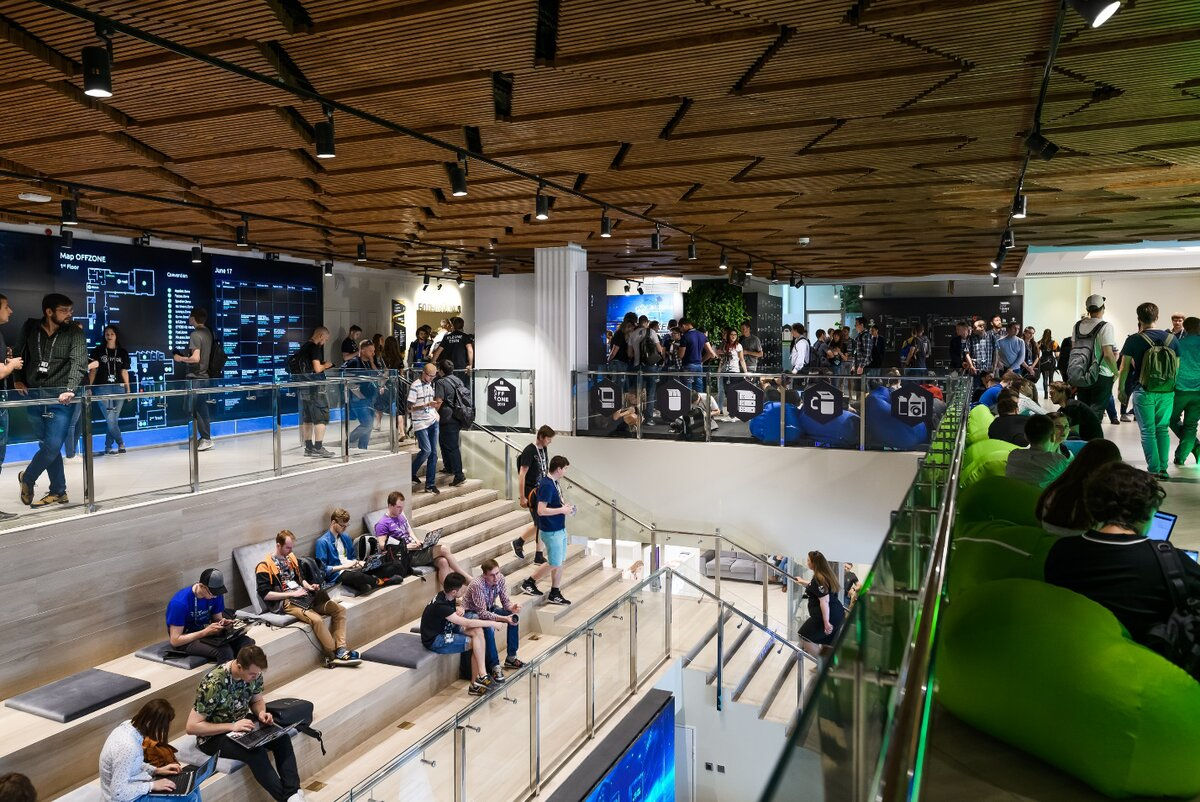 Конференция Offzone 2019 прошла на площадке «Цифрового делового пространства»