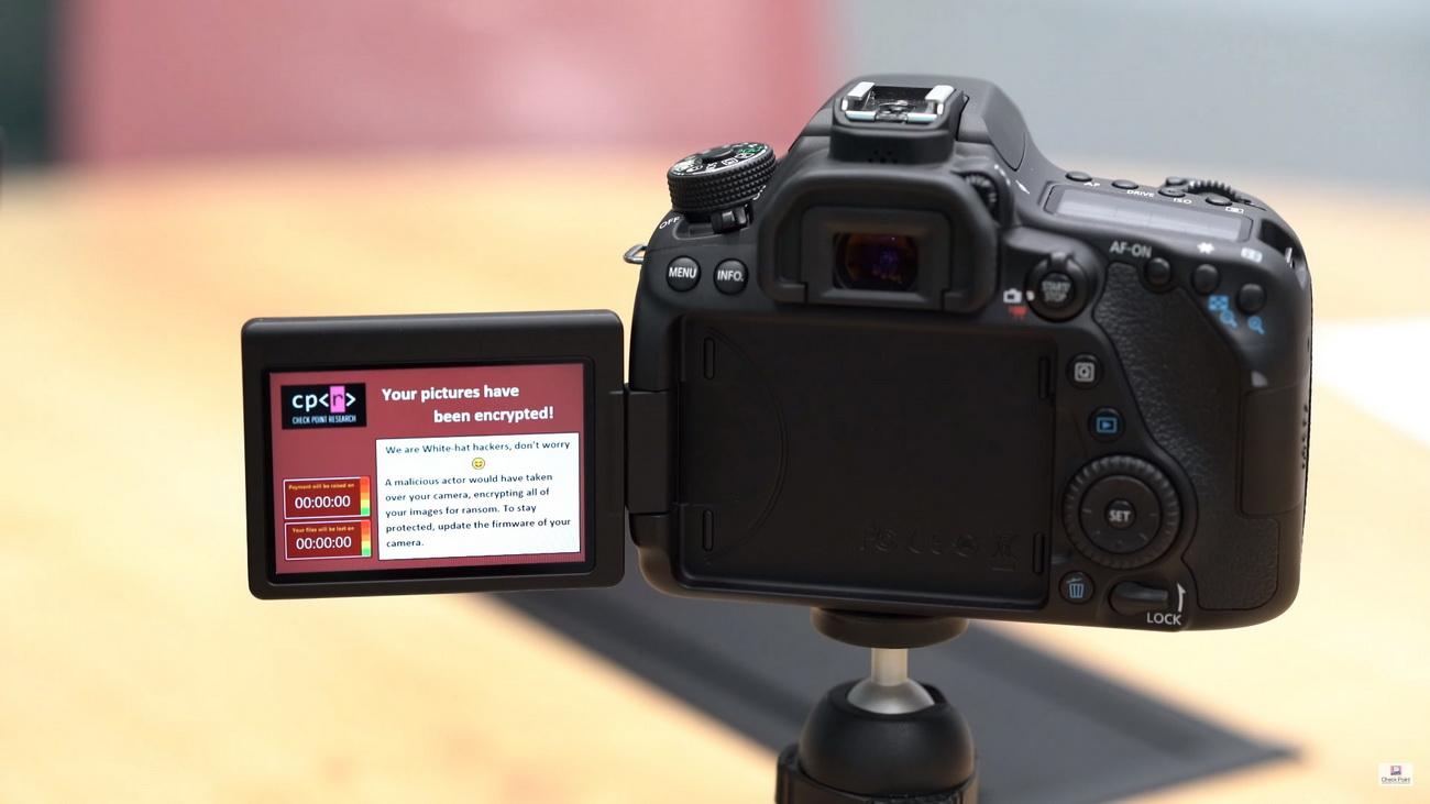 Эксперты заразили зеркалку Canon вымогателем через Wi-Fi