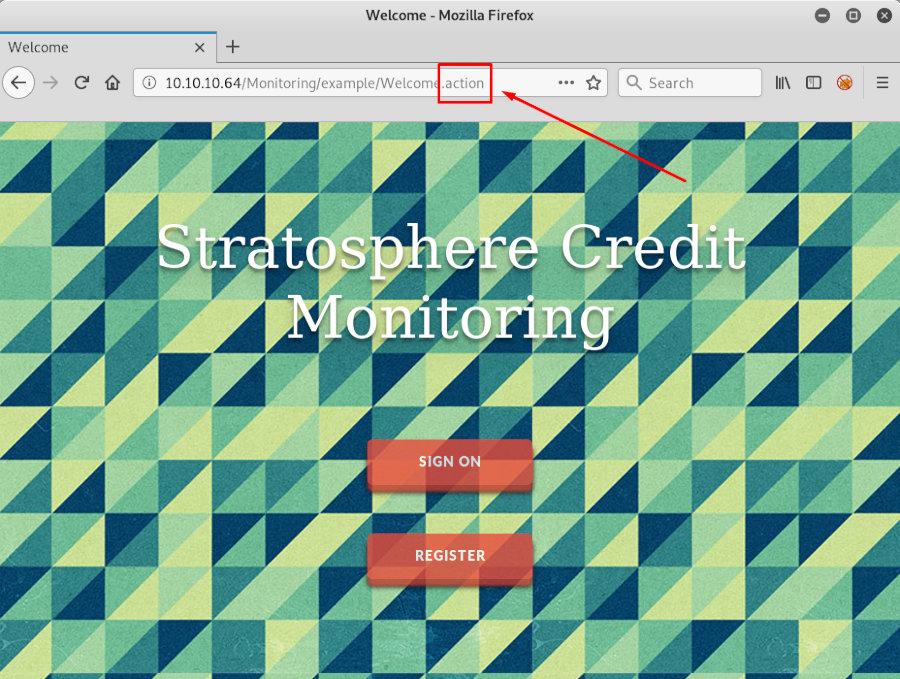 Action-приложение Apache Struts