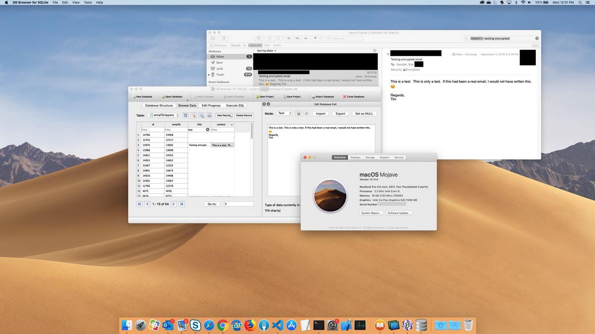 Баг позволяет читать зашифрованные письма Apple Mail в macOS
