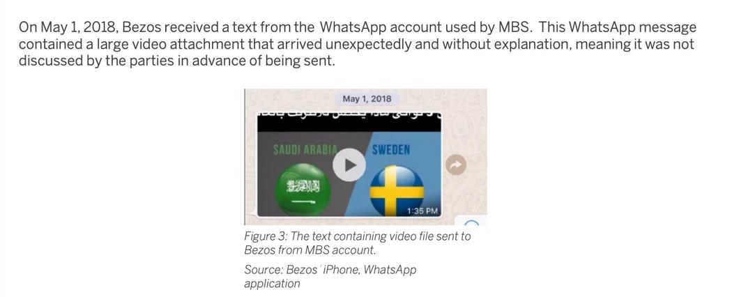 Смартфон Джеффа Безоса был взломан после WhatsApp-сообщения от принца Саудовской Аравии 2