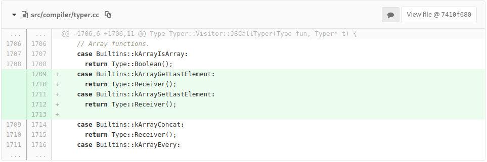 Изменения src/compiler/typer.cc
