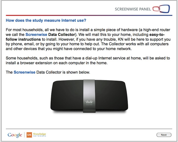 Screenwise Data Collector