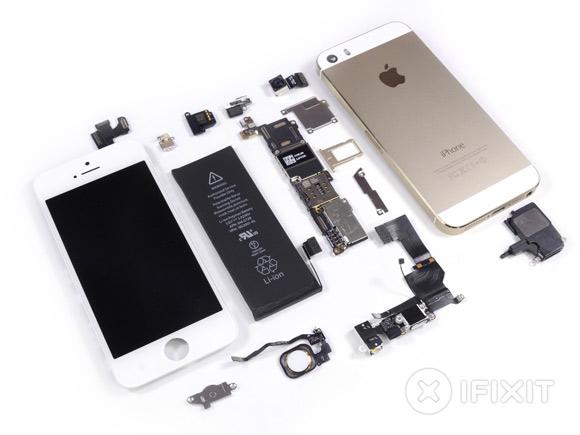 из чего состоит iphone 5s